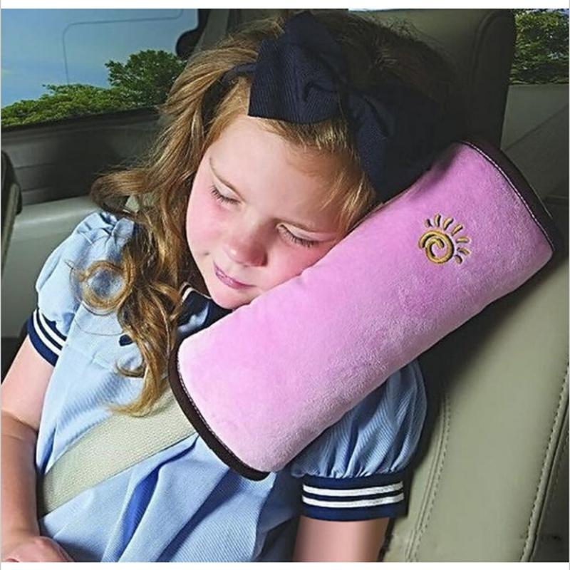 High Quality Children Car Soft Headrest Baby Vehicle Safety Seat Belt Pillows Strap Soft Shoulder Pad Cushion Neck Seatbelt