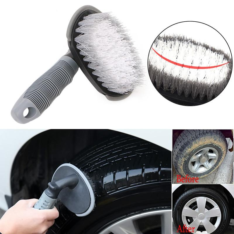 Car Tyre Cleaning Brush T-Type Multi-Functional Wheel Hub Brush Car Washing Tool New Arrival