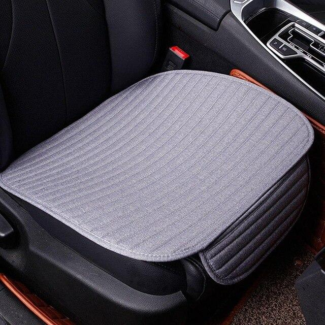 Universal Car Seat Cover Winter Plush Anti Slip Cushion Pad Mat Office Chair Soft Breathable Seat Cover Auto Interior Supplies