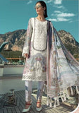 WHITE EMBROIDERED PAKISTANI STYLE SUIT