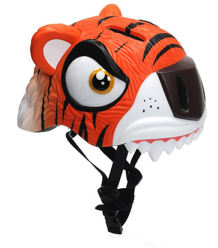 Animiles 3D Helmet Kids - Orange Tiger
