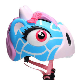 Animiles 3D Helmet Kids - Blue Deer