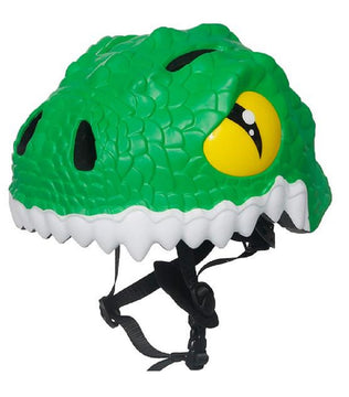 Animiles 3D Helmet Kids - Green Dragon