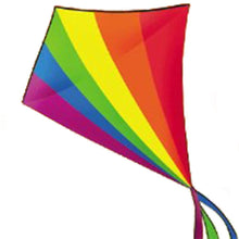 Load image into Gallery viewer, Giant Rainbow  Diamond Kite 5ft
