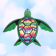Load image into Gallery viewer, Tie Dye Turtle Kite