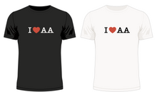 Load image into Gallery viewer, I 'Heart' AA No.1 T-Shirt