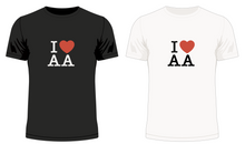 Load image into Gallery viewer, I 'Heart' AA No.2 T-Shirt