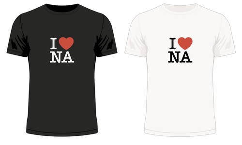 I 'Heart' NA No.2 T-Shirt