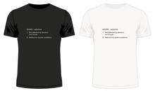 Load image into Gallery viewer, Sober - Dictionary Definition T-Shirt