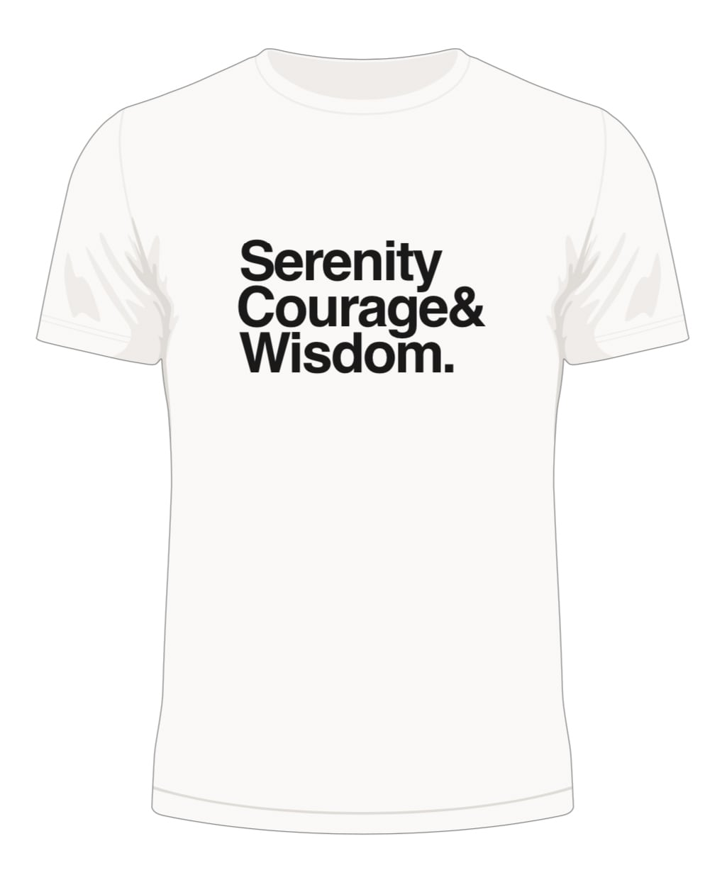 Serenity, Courage & Wisdom T-Shirt