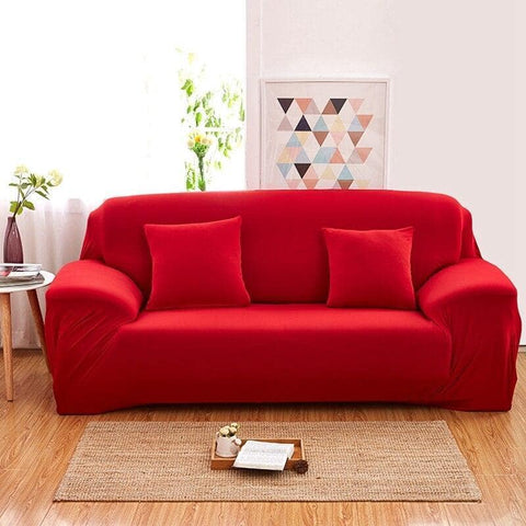 HOUSSE EXTENSIBLE ROUGE