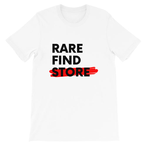 Rare Find Store Black Letters T-Shirt
