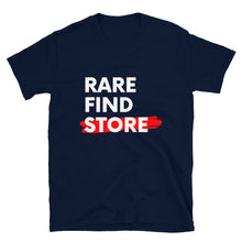 Load image into Gallery viewer, Rare Find Store White Letters T-Shirt