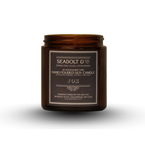Hand Poured Soy Candle - Joe