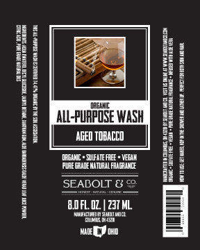 Organic All Purpose Wash - Aged Tobacco