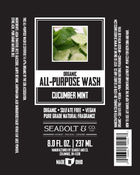 Organic All Purpose Wash - Cucumber Mint