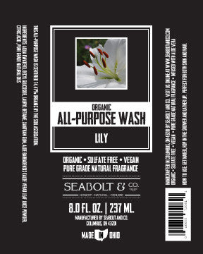 Organic All Purpose Wash - Lily