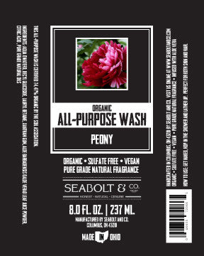 Organic All Purpose Wash - Peony