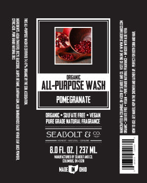 Organic All Purpose Wash - Pomegranate