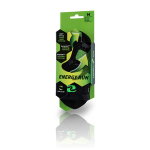 Enertor Energy Run socks packaging