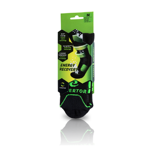 Enertor Recovery socks packaging