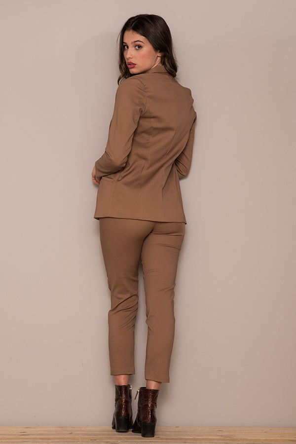 BASIC CAMEL PANTS