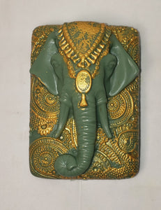 Indian Elephant Soap Gold & Silver Collection