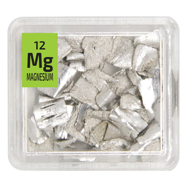 Magnesium Pieces Periodic Element Tile - The Periodic Element Guys