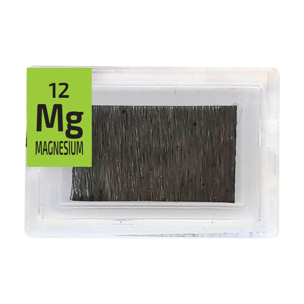 Magnesium foil Periodic Element Tile - Small - The Periodic Element Guys