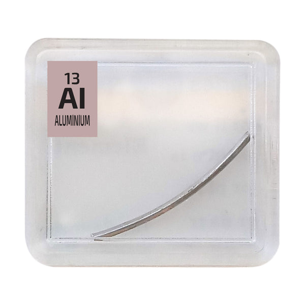 Aluminium Wire Periodic Element Tile - The Periodic Element Guys