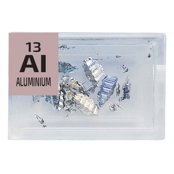Aluminium Pieces Element Tile - Small - The Periodic Element Guys