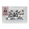 Aluminium Pieces Periodic Element Tile - Small - The Periodic Element Guys