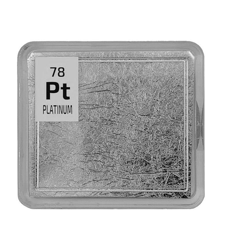 Platinum Foil Periodic Element Tile - The Periodic Element Guys
