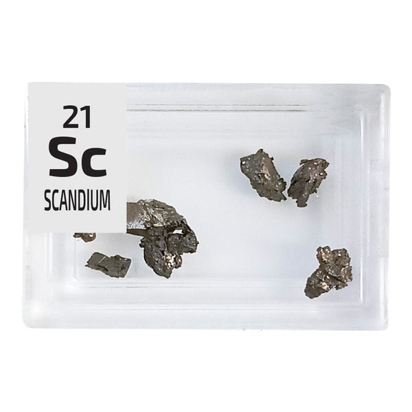 Scandium Pieces Periodic Element Tile - Small - The Periodic Element Guys