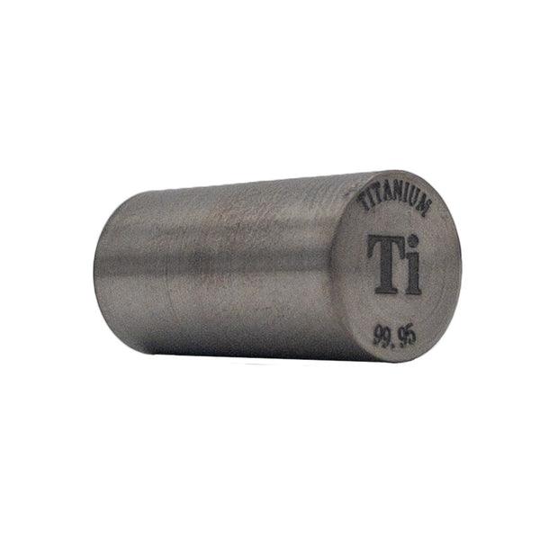 Titanium Rod 99.95% Purity 20mmx10mm - The Periodic Element Guys