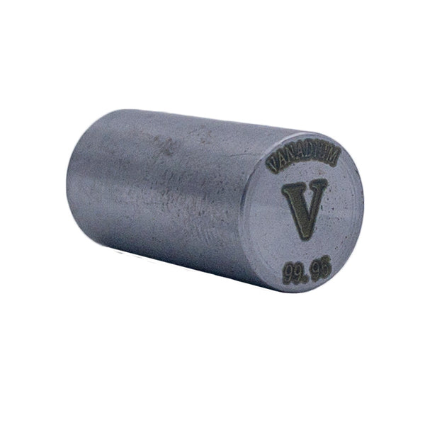 Vanadium Rod 99.95% Purity 20mmx10mm - The Periodic Element Guys