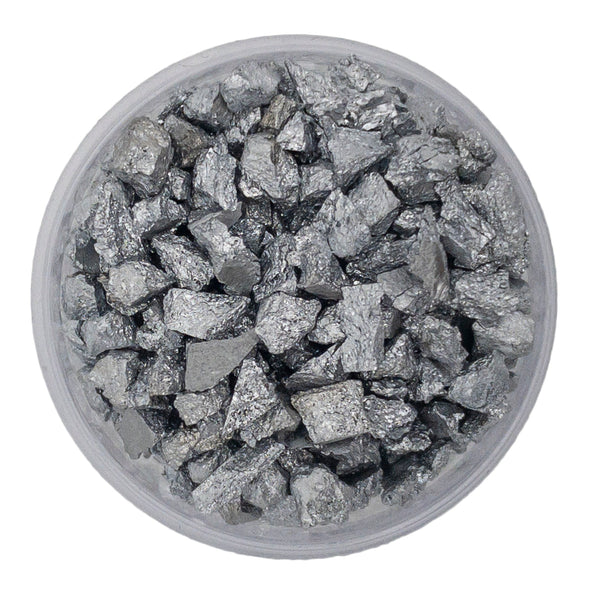 99.99% Pure Chromium Crystalline Grains - The Periodic Element Guys