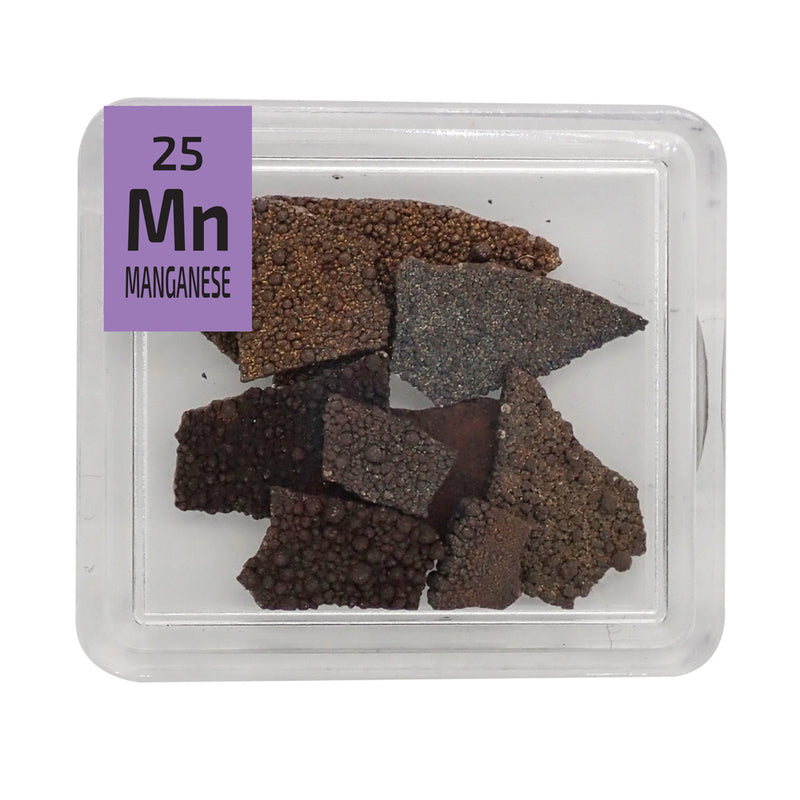 Manganese Pieces Periodic Element Tile - The Periodic Element Guys