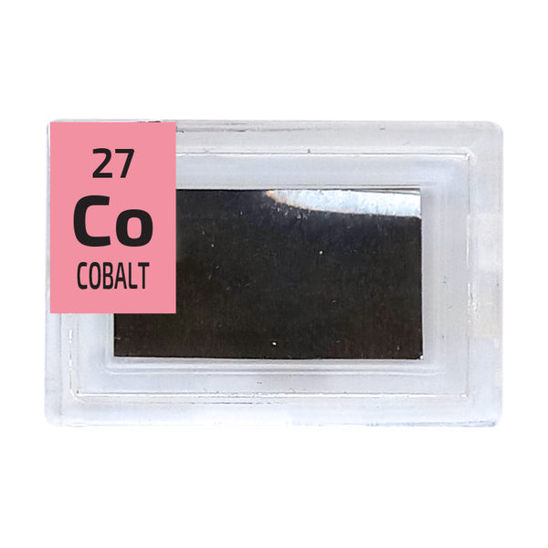 Cobalt Foil Periodic Element Tile - Small - The Periodic Element Guys
