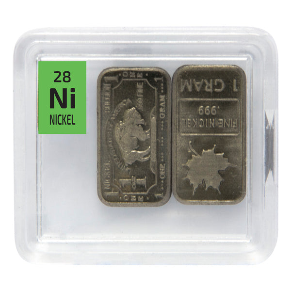 Nickel Ingots Periodic Element Tile - The Periodic Element Guys