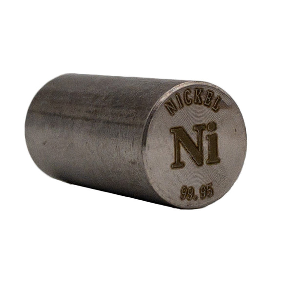 Nickel Rod 99.95% Purity 20mmx10mm - The Periodic Element Guys