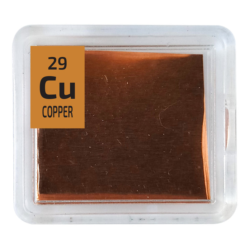 Copper Foil Periodic Element Tile - The Periodic Element Guys