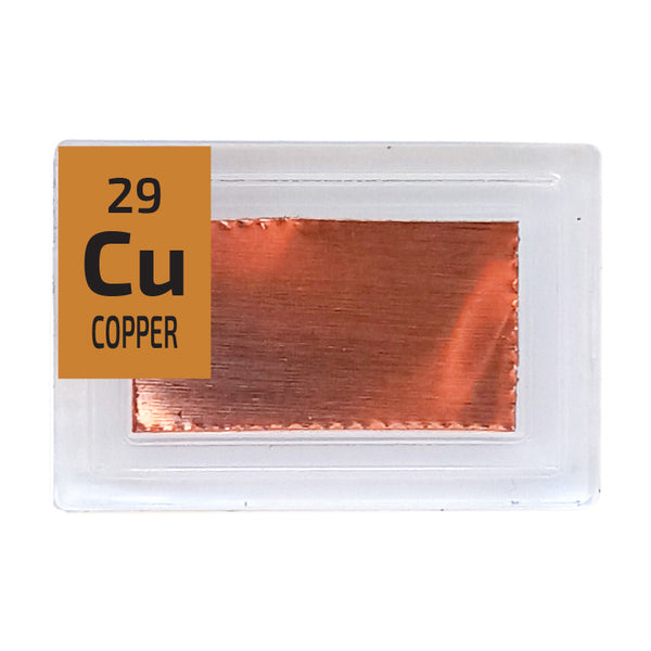 Copper Foil Periodic Element Tile - Small - The Periodic Element Guys