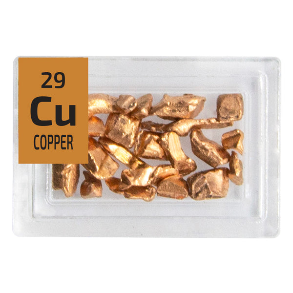 Copper Pieces Periodic Element Tile - Small - The Periodic Element Guys