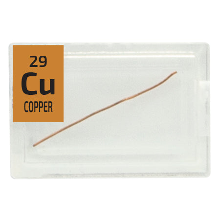 Copper Wire Periodic Element Tile - Small - The Periodic Element Guys