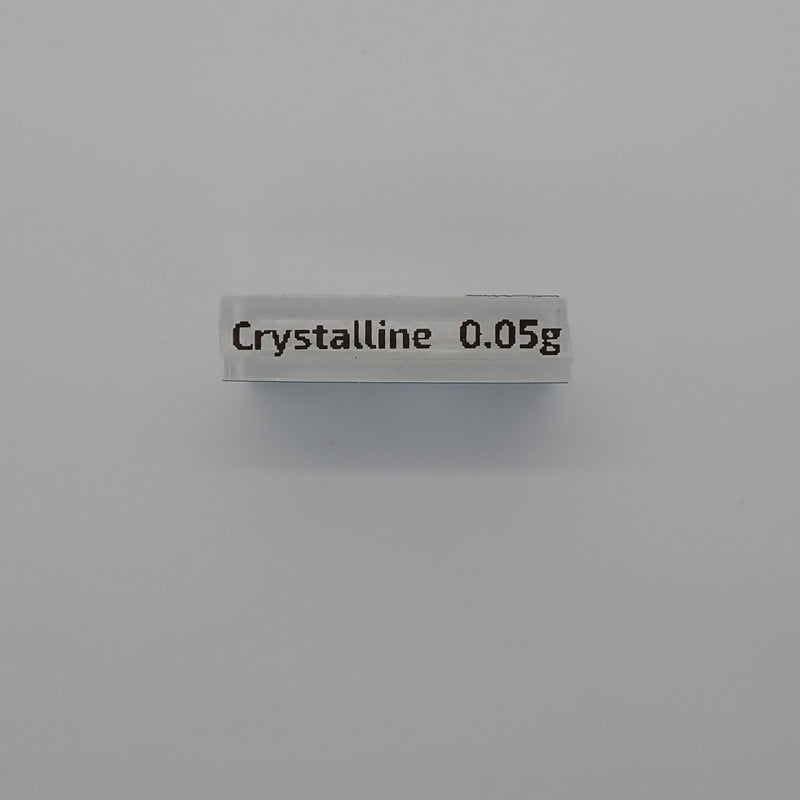 Rhodium Metal 99.99% Pure Crystals Element Sample 0.04 - 0.14 Grams Very Special - The Periodic Element Guys