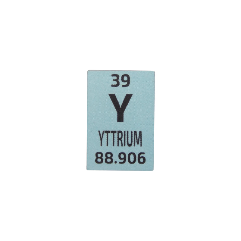 Yttrium Pieces Periodic Element Tile - Small - The Periodic Element Guys