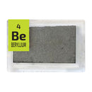 Beryllium Foil Periodic Element Tile - Small - The Periodic Element Guys