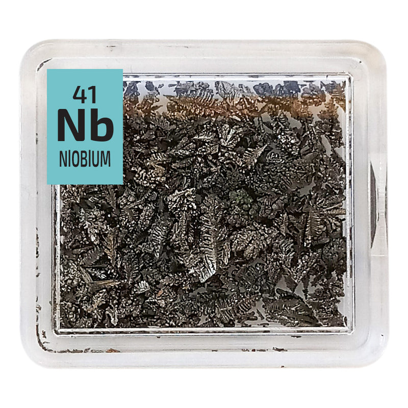 Niobium Crystals Periodic Element Tile - The Periodic Element Guys