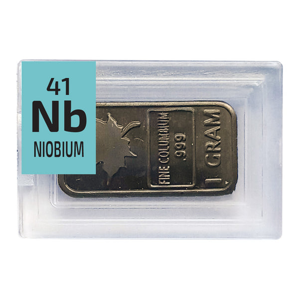 Niobium Maple Ingot Periodic Element Tile - The Periodic Element Guys